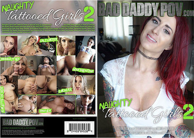 Naughty Tattooed Girls 2 Bad Daddy POV Sealed DVD