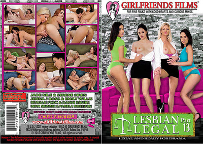 Lesbian Legal 13 Girlfriends - New  - Sealed DVD
