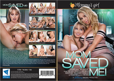Mom Saved Me Girlsway   Sealed DVD