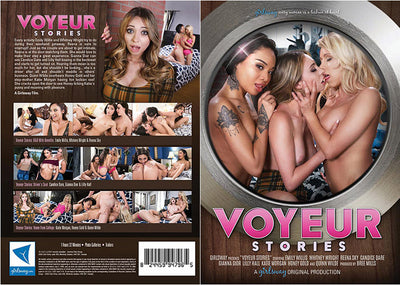 Voyeur Stories Girlsway (lesbian)  Sealed DVD