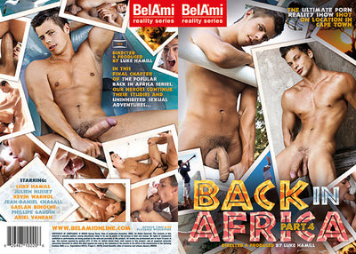 Back In Africa 4 - Bel Ami - Gay Sealed DVD