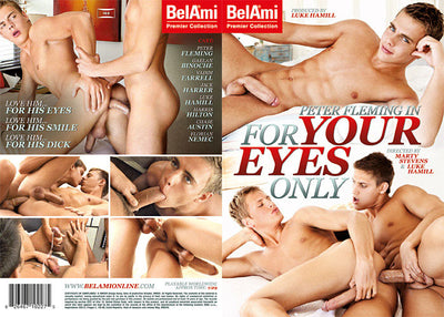 Peter Fleming In For Your Eyes Only - Bel Ami - Gay Sealed DVD