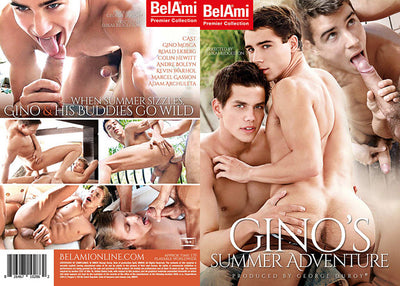 Gino's Summer Adventure - Bel Ami - Gay Sealed DVD