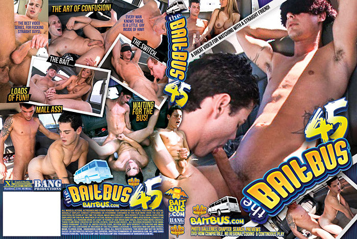 The Bait Bus #45 - Bang Bros, Gay Sealed DVD