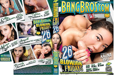 Blowjob Fridays 26 Bang Bros - 2017 Sealed DVD