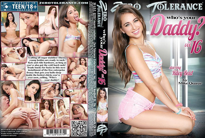 Whos Your Daddy? #16 (riley reid) - Zero Tolerance Sealed DVD
