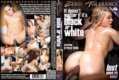 It Doesn't Matter if Its Black or White #1 - Zero Tolerance Sealed 2 DVD Set