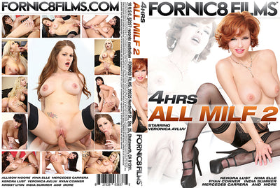 All MILF 2 Fornic8 Films - 4 Hrs Sealed DVD