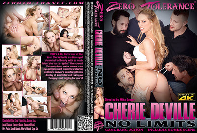 *Cherie DeVille: No Limits Zero Tolerance (milf gangbang) Sealed DVD