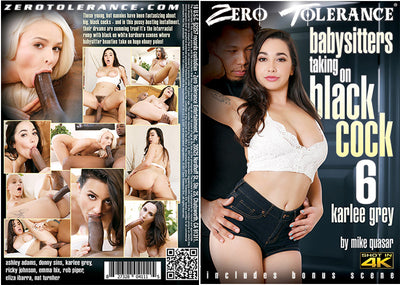 *Babysitters Taking On Black Cock 6 Zero Tolerance - 2018 Sealed DVD