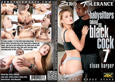 *Babysitters Taking On Black Cock 7 Zero Tolerance Sealed DVD