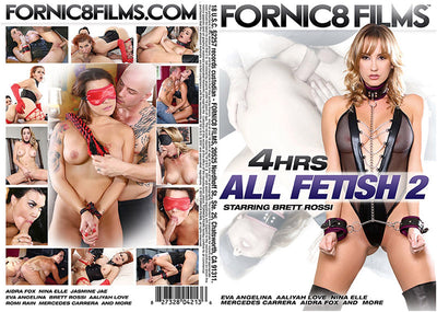 All Fetish #2 Fornic8 Films 4 Hour Sealed DVD