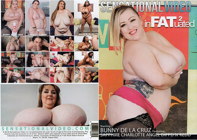 Infatuated 2 Sensational - Fat Fetish Sealed DVD