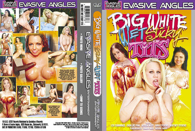 Big White Wet Sticky Tits, Evasive Angles - Interracial Sealed DVD