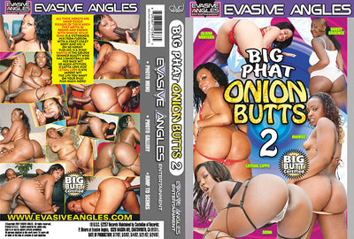 Big Phat Onion Butts 2, Evasive Angles - Interracial Sealed DVD