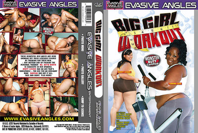 Big Girl Work Out 1, Evasive Angles - Interracial Sealed DVD