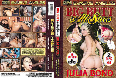 Big Butt All Stars: Julia Bond (2 Disc Set), Big Butt All Stars Sealed DVD