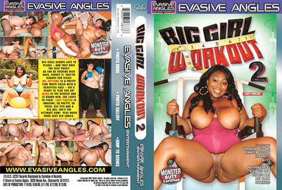 Big Girl Work Out 2, Evasive Angles - Interracial Sealed DVD