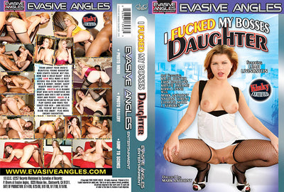 I Fucked My Bosses Daughter 1, Evasive Angles - Interracial Sealed DVD