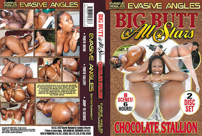 Big Butt All Stars: Chocolate Stallion (2 Disc Set) - Big Butt All Stars - Sealed DVD