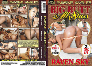 Big Butt All Stars: Raven Sky (2 Disc Set), Big Butt All Stars Sealed DVD