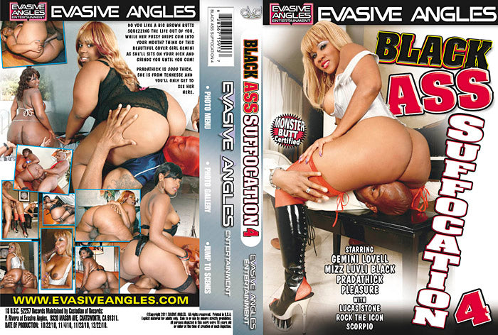 Black Ass Suffocation #4 - Evasive Angles Sealed DVD