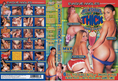 My Milkshake Is Thick And Double-Dicked 1, Evasive Angles - Interracial Sealed DVD