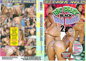 Big Phat Black Wet Butts 2 Evasive Angles - Interracial Sealed DVD