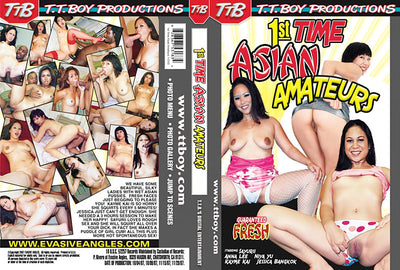 1st Time Asian Amateurs T.T. Boy Sealed DVD