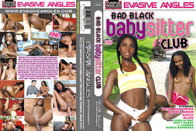 Bad Black Babysitter Club Evasive Angles - Interracial Sealed DVD