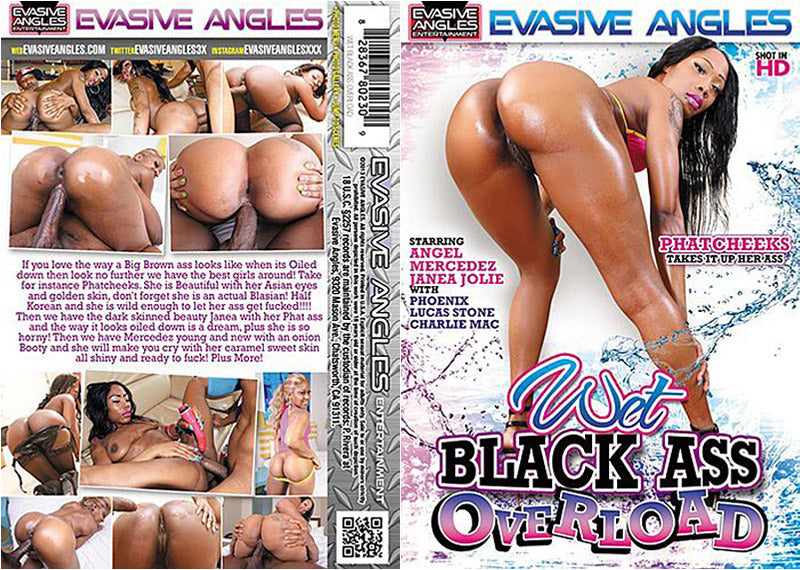 Wet Black Ass Overload 1 - Evasive Angles - Interracial - Sealed DVD
