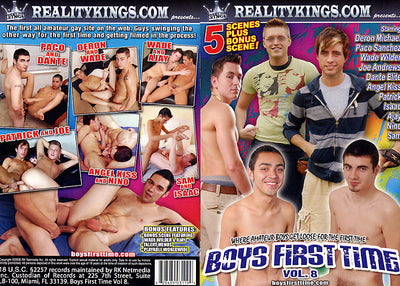 Boys First Time 8 Reality Kings - Gay Sealed DVD