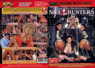 Nut Busters XXX - Muffia - Reality Sealed DVD