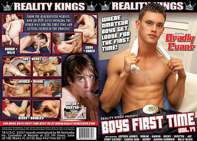 Boys First Time 17 Reality Kings - Gay Sealed DVD