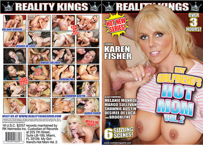 My Girlfriend's Hot Mom 2 Reality Kings  Sealed DVD