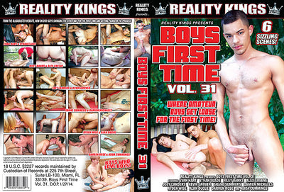 Boys First Time 31 Reality Kings - Gay Sealed DVD