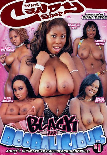 Black and Boobalicious #1 - Candy Shop DVD