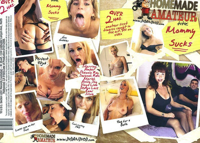 Mommy Sucks #1 - Homemade Amateurs Adult XXX DVD