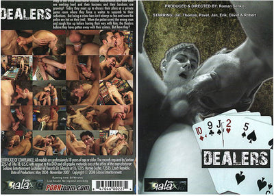 Dealers Porn Team Gay Mix Sealed DVD (Special)