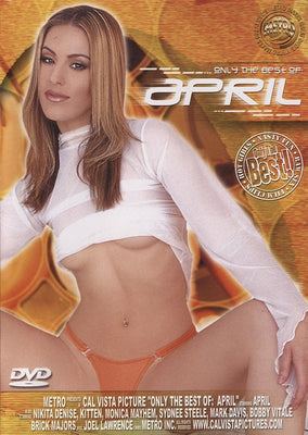 Only The Best of April Cal Vista Adult Sealed DVD