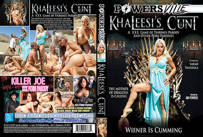 *Khaleesi's Cunt Juicy - Parody Sealed DVD