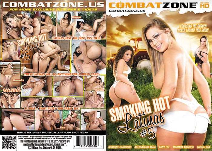 Smokin Hot Latinas #5 - Digital Download