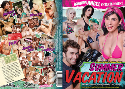 Joanna Angel & James Deen's Summer Vacation, Burning Angel - Alt Sex Sealed DVD