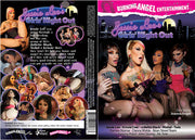 Jessie Lee's Girls' Night Out, Burning Angel - New Sealed DVD
