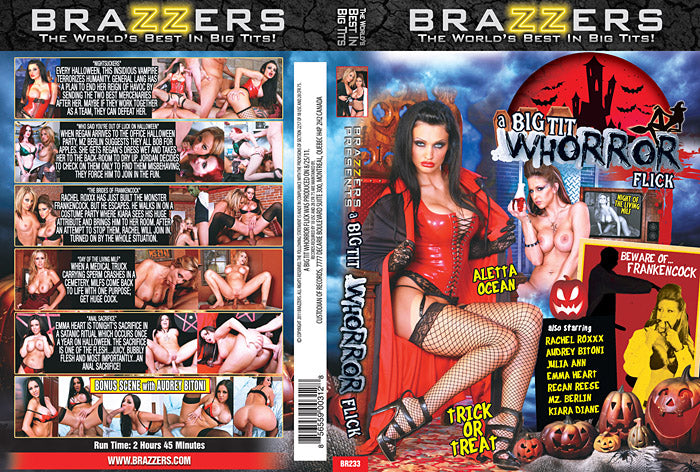 A Big Tit Whorror Flick Brazzers Sealed DVD