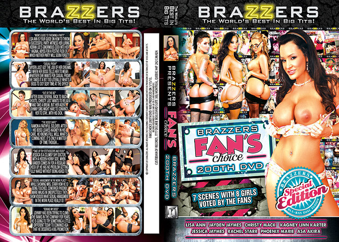 Brazzers Fans Choice (lisa ann)  2013 Brazzers Sealed DVD