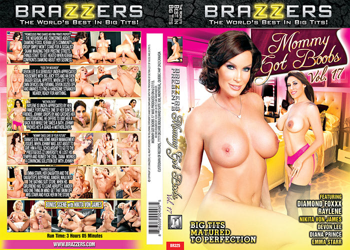 Mommy Got Boobs #17 - Brazzers Sealed DVD