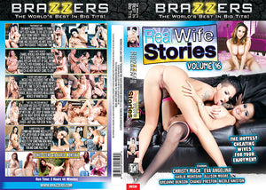 Real Wife Stories 16 Brazzers Sealed DVD