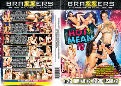 Hot And Mean 10 Brazzers - Busty (Bonnie Rotten) Sealed DVD
