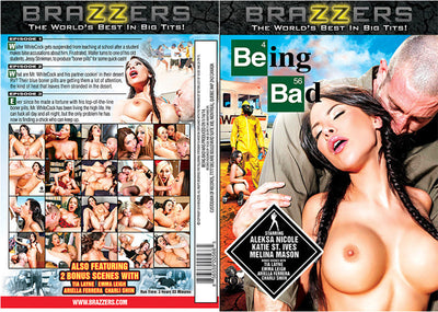 Being Bad Brazzers - Busty Sealed DVD